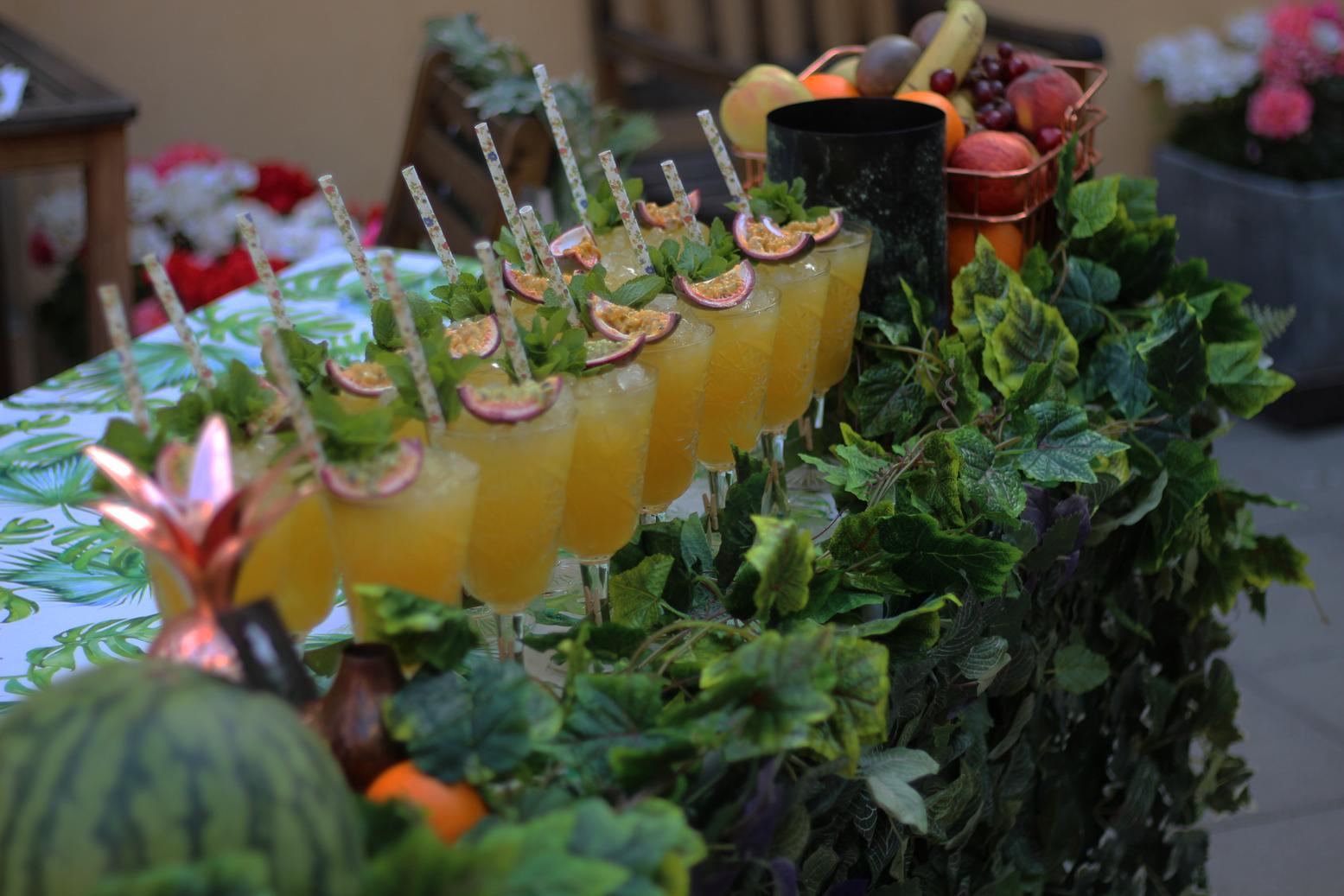 Velkomst Cocktails Til Events